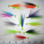 Assorted patterns 1/16oz hair jigs